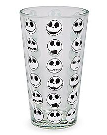 All Over Jack Skellington Pint Glass 16 oz. - The Nightmare Before Christmas