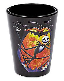 Bats Jack Skellington Mini Glass 1.5 oz. - The Nightmare Before Christmas