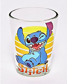 Winking Stitch Mini Glass 1.5 oz. - Disney