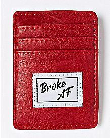 Broke AF Clip Card Wallet
