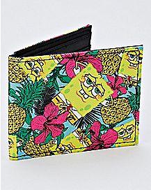 Pineapple Spongebob Bifold Wallet