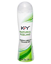 KY Natural Feeling Lube - 1.69 oz.