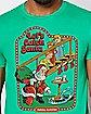 Let's Catch Santa T Shirt - Steven Rhodes