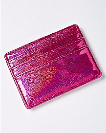 Pink Sparkle ID Wallet