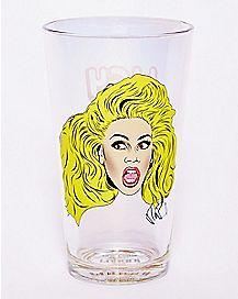 Hey Kitty Girl Ru Paul Pint Glass - 16 oz.
