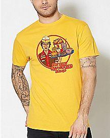 Eat Your Worries T Shirt - Steven Rhodes