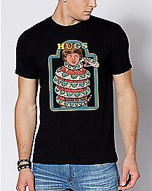 Snake Hugs T Shirt - Steven Rhodes