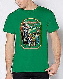 Respect Your Elders T Shirt - Steven Rhodes