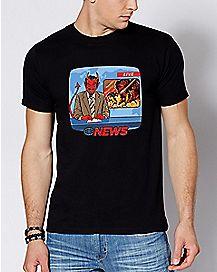Breaking News T Shirt - Steven Rhodes