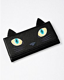 3D Cat Trifold Wallet