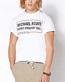 Michael Scott Paper Company T Shirt - The Office