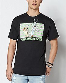 1edf03355fba Official Rick and Morty T Shirts & Merchandise - Spencer's