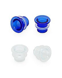 Multi-Pack Single Flare Plugs - 2 Pair