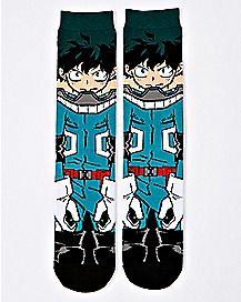 360 Izuki Crew Socks - My Hero Academia