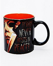 Terror Never Rests In Peace Michael Myers Coffee Mug 20 oz. - Halloween