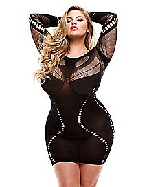 Plus Size Sexy Curve Dress