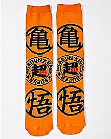 Super Dragon Ball Symbol Crew Socks - Dragon Ball Z