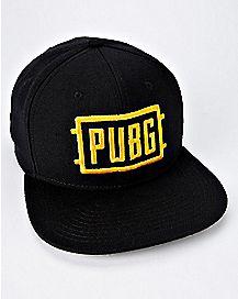 ace700a954f PUBG Snapback Hat - Spencer s