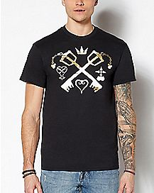 Keyblade Kingdom Hearts T Shirt