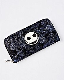 Iridescent Jack Skellington Zip Wallet - The Nightmare Before Christmas
