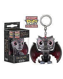 Drogon Funko Pop Keychain - Game of Thrones