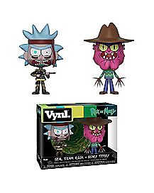 Seal Team Rick and Scary Terry Vynl. Funko Figures 2 Pack - Rick and Morty