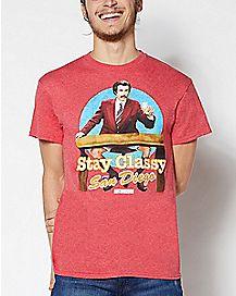 Stay Classy San Diego T Shirt - Anchorman