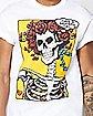 Skeleton Grateful Dead T Shirt