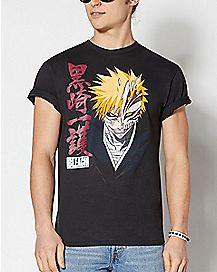 Hollow Mask Ichigo T Shirt - Bleach