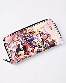 Character Kingdom Hearts Zipper Wallet - Disney