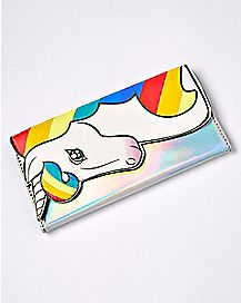 Iridescent Unicorn Zip Wallet