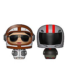 Moonwalker & Burnout Pint Size Heroes Funko Figure - Fortnite