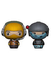 Raptor & Elite Agent Pint Size Heroes Funko Figure - Fortnite