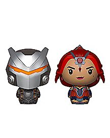 Omega & Valor Pint Size Heroes Funko Figure - Fortnite
