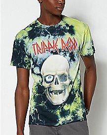 Skull Tie Dye Trippie Redd T Shirt