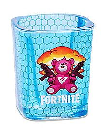 Square Brite Gunner Shot Glass 2 oz. - Fortnite