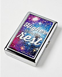 Higher Than The Rest Galaxy Cigarette Case