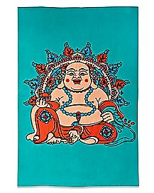 Laughing Buddha Tapestry