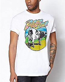 Cow Pink Floyd T Shirt