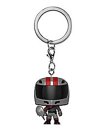 Burnout Funko Pop Keychain - Fortnite