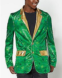 Shamrock Sequin Light-Up St. Patrick's Day Jacket