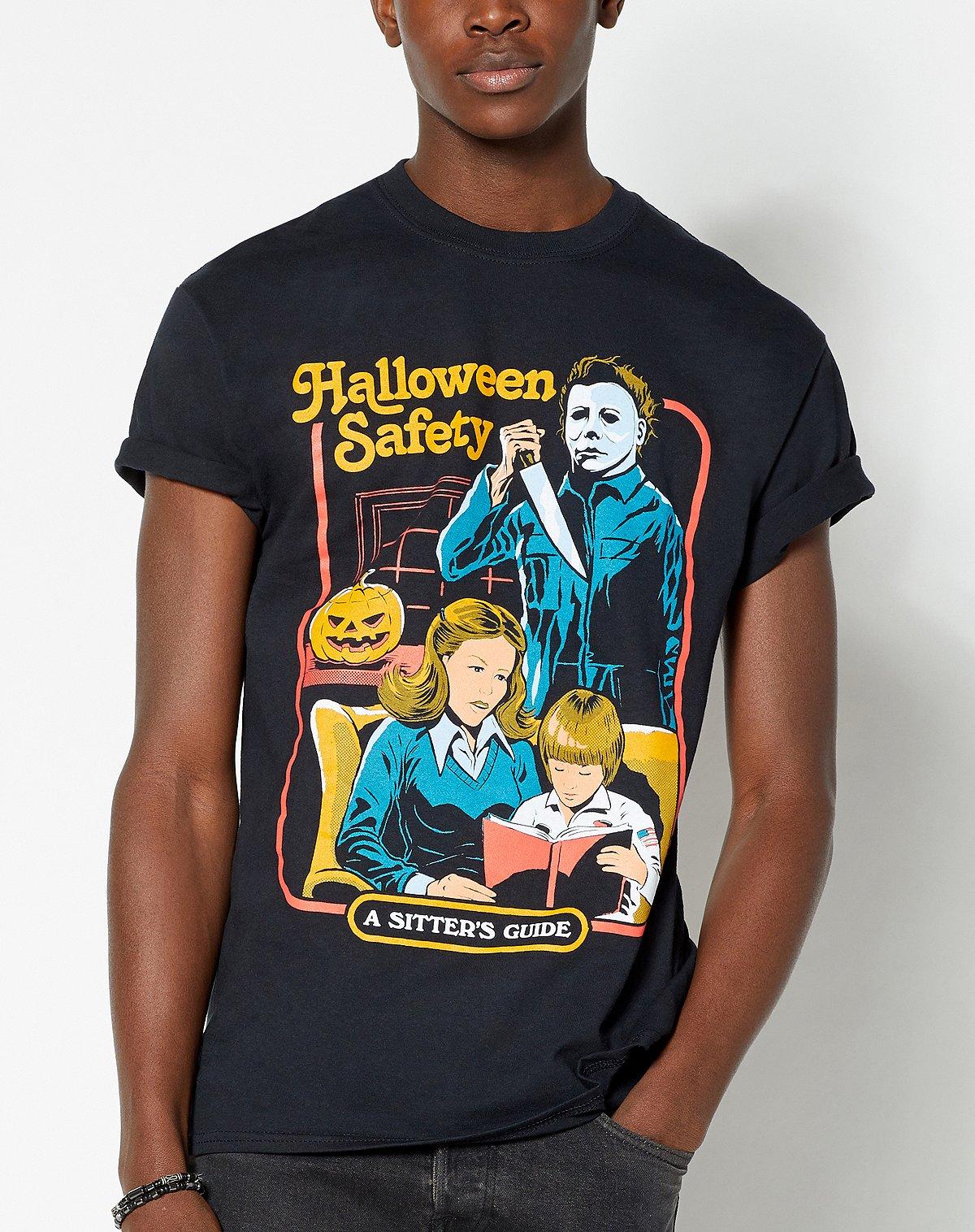 steven rhodes halloween safety t shirt