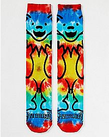 Tie Dye Grateful Dead 360 Crew Socks