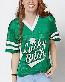 Lucky Bitch St. Patrick's Day Jersey