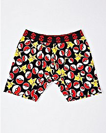 Pokeball and Pikachu Boxer Briefs - Pokemon