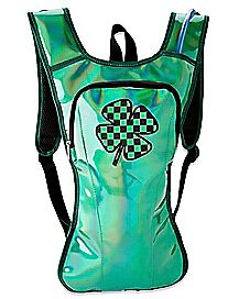 Iridescent Shamrock St. Patrick's Day Hydration Bag