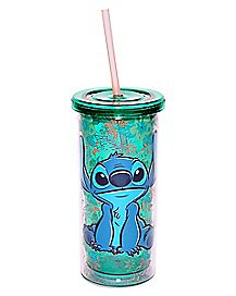 Floral Stitch Cup With Straw 20 oz. - Disney