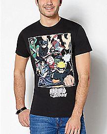 Group Capsule Naruto T Shirt