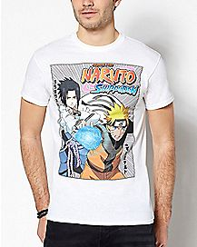 Sasuke and Naruto T Shirt