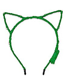 Light Up Cat Ear St. Patrick's Day Headband